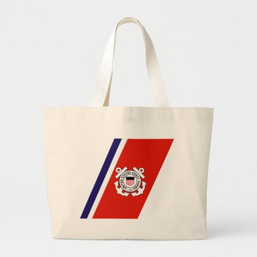 USCG Racing Stripe - Right Tote Bag