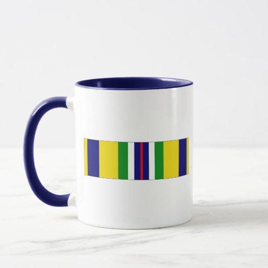 USCG Recruiting Service Ribbon Mug