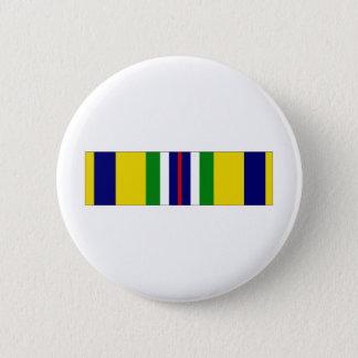 USCG Recruiting Service Ribbon Pinback Button