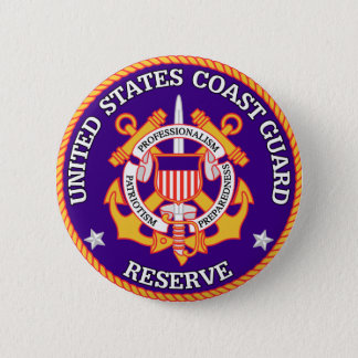 USCG Reserve Seal Button