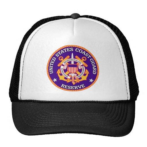 USCG Reserve Seal Trucker Hat