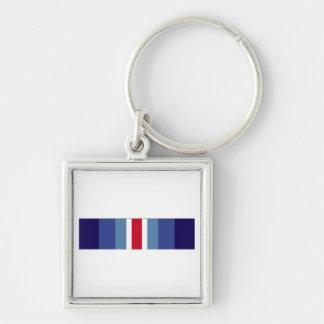 USCG Restricted Duty Ribbon Keychain