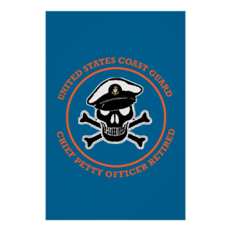 USCG Retired Chief Petty Officer Print
