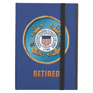USCG Retired iPad Air Case with No Kickstand