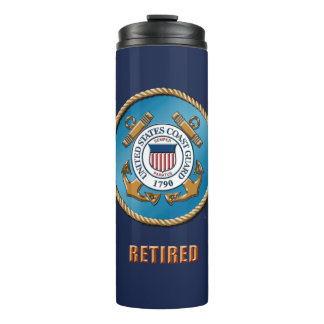 USCG Retired Thermal Tumbler