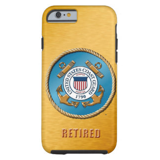 USCG Retired Various iPhone & Samsung Cases
