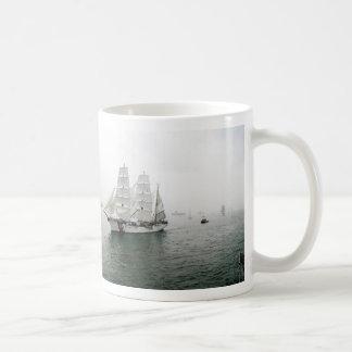 USCG Sailing Parade Classic White Coffee Mug