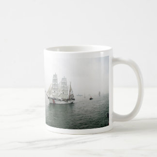 USCG Sailing Parade Coffee Mug