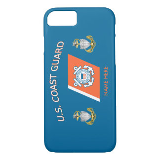 USCG SCPO Racing Stripe Custom iPhone 7 Case