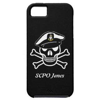 USCG SCPO Scull Vibe iPhone 5 Case
