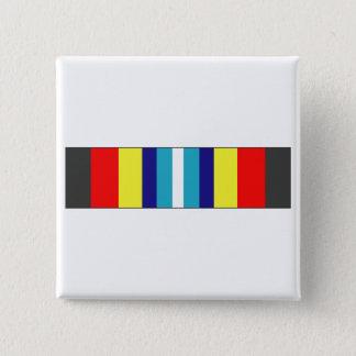 USCG Sea Service Ribbon Pinback Button