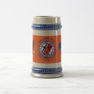 USCG Search and Rescue Beer Stein