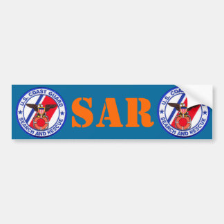 USCG Search and Rescue Bumper Sticker