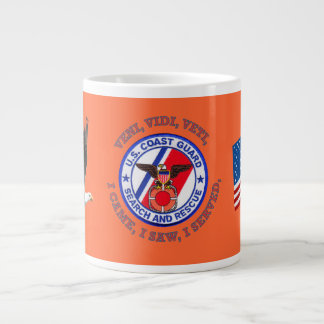 USCG Search and Rescue Giant Coffee Mug