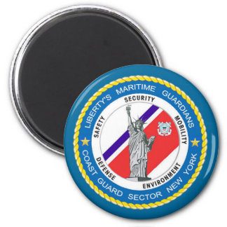USCG Sector New York 2 Inch Round Magnet
