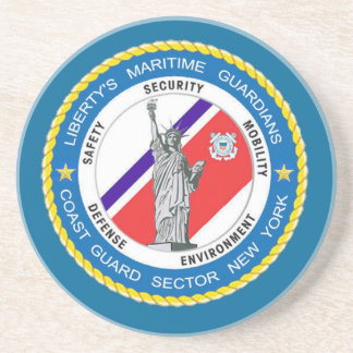 USCG Sector New York Drink Coaster