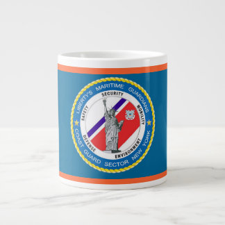 USCG Sector New York Extra Large Mugs