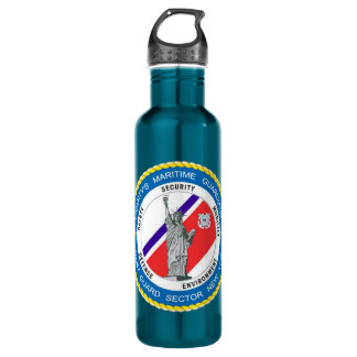 USCG Sector New York Stainless Steel Water Bottle