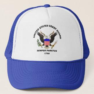 USCG Semper Paratus LIGHT Trucker Hat