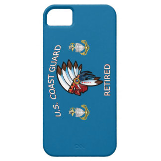 USCG Senior Chief Petty Officer Retired iPhone SE/5/5s Case