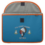 USCG Senior Chief Petty Officer Retired MacBook Pro Sleeves