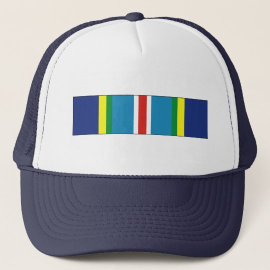 USCG Special Operations Service Ribbon Trucker Hat