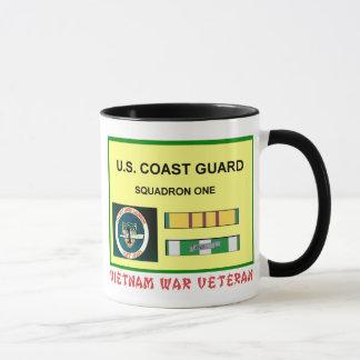 USCG SQUADRON ONE VIETNAM WAR VET MUG