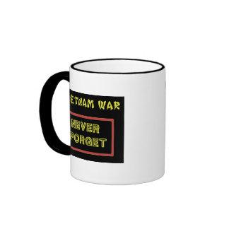 USCG SQUADRON THREE VIETNAM WAR VET RINGER COFFEE MUG