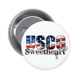 USCG Sweetheart Pin