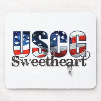 USCG Sweetheart Mouse Pad