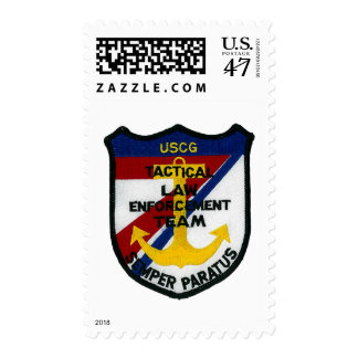USCG Tactical Law Enforcement Team Stamp