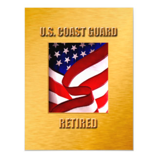 USCG Thin Magnetic Card