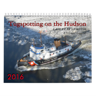 USCG Tugspotting on the Hudson Calendar