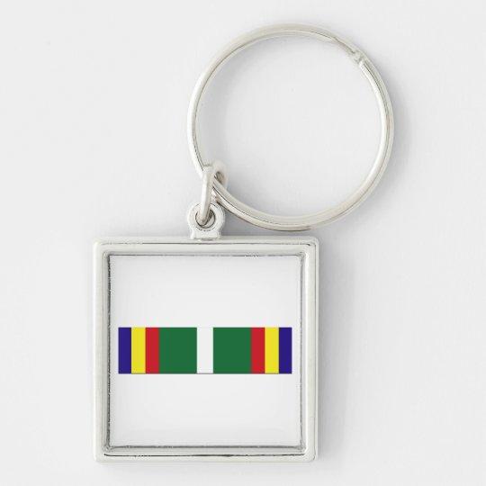 USCG Unit Commendation Ribbon Keychain