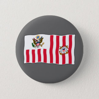 USCG Welcome Pinback Button