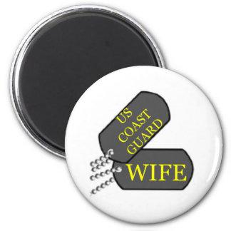 USCG Wife Magnet