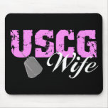 USCG Wife Mouse Pads