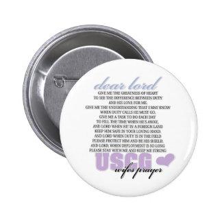 USCG Wife's Prayer Pins