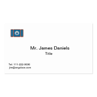 USCGA Logo Double-Sided Standard Business Cards (Pack Of 100)
