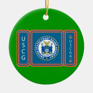 USCGA Logo Ceramic Ornament