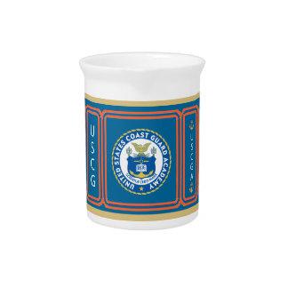 USCGA Logo Drink Pitcher