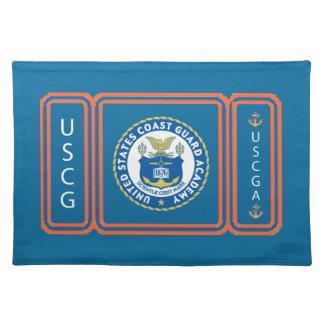 USCGA Logo Place Mats