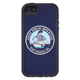 """USCGC Adelie WPB-87333 """"azules marinos """" iPhone 5 Funda"""