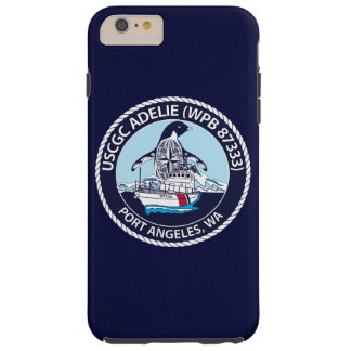 "USCGC Adelie WPB-87333 ""Navy Blue"" Tough iPhone 6 Plus Case"