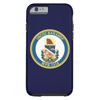 "USCGC Baranof WPB-1318 ""Navy Blue"" Tough iPhone 6 Case"