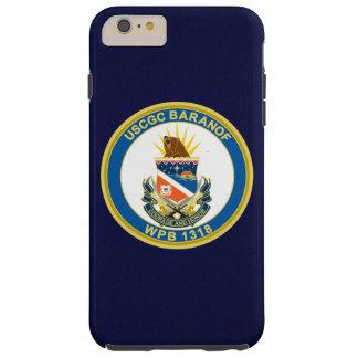 "USCGC Baranof WPB-1318 ""Navy Blue"" Tough iPhone 6 Plus Case"
