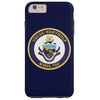 "USCGC Bertholf WMSL-750 ""Navy Blue"" Tough iPhone 6 Plus Case"