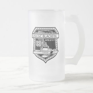 USCGC Blackfin WPB-87317 Taza De Cristal