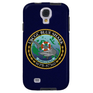 "USCGC Blue Shark WPB-87360 ""Navy Blue"" Galaxy S4 Case"