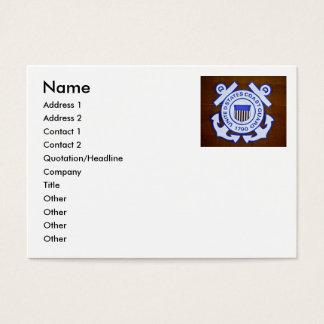 USCGC Bramble (WLB-392) (Aged Finish) Business Card